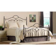 Hillsdale Oklahoma Bed Set (Queen), Grey