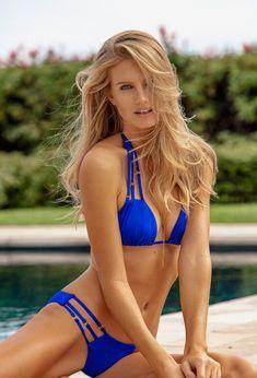 Holly Parker is a swimwear, fashion, and lifestyle model and photographer currently in Miami Beach, Florida. Lace Bikini, Bralette Bikini, Holly Parker, Black Monokini, Beach Bunny Swimwear, Striped Swimsuit, Fashion Photography Inspiration, High Cut Bikini, Beach Tops