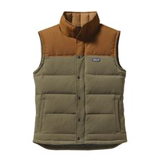 Our Men's Bivy Down Vest is a durable outdoor vest insulated with 600-fill-power Traceable 100% Down from non-live-plucked and non-force-fed birds.
