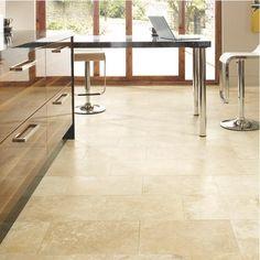 Travertine Honed & Filled Tile - Travertine Floor Tiles - Floor Tiles -Tiles & Flooring - Wickes