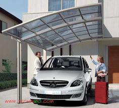carport in alluminio, tettoia parcheggio auto, design,parcheggio,