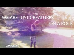 WE ARE JUST CREATURES ON A ROCK!! (and that is so beautiful) - YouTube