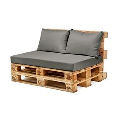 Back cushion only waterproof for Euro-pallets-garden furniture-in the . - Back cushion only waterproof for Euro-pallet-garden furniture-outdoor sofa – # EuroPaletten - Outdoor Furniture Plans, Wooden Pallet Furniture, Wooden Sofa, Wooden Pallets, Furniture Ideas, Plastic Pallets, How To Make Pallet Furniture Cushions, Furniture Layout, Repurposed Furniture
