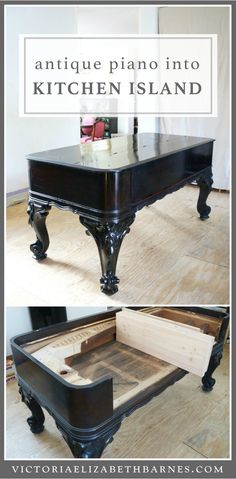 Diy Repurposed Antique Kitchen Island. Part 3.