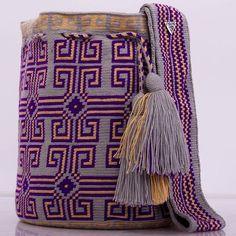 New collection ✨ รุ่น premium quality ราคาพิเศษ ‼️ สนใจทักไลน์มาเลยจ้า #กระเป๋าถัก #wayuulovers #wayuubags #wayuu #wayuutribe #wayuubags Crotchet Patterns, Crochet Stitches, Knit Crochet, Tapestry Bag, Tapestry Crochet, Tribal Patterns, Knitted Bags, Crochet Accessories, Beautiful Crochet