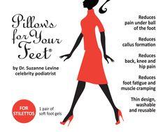 Pillows for Your Feet® For Stilettos