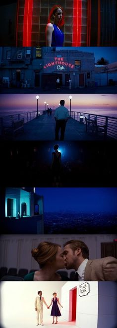 """La La Land"" Directed by Damien Chazelle, DOP: Linus Sandgren Cinematic Photography, Film Photography, Color In Film, Damien Chazelle, Light Film, Poster Art, Movie Shots, Film Inspiration, Film School"