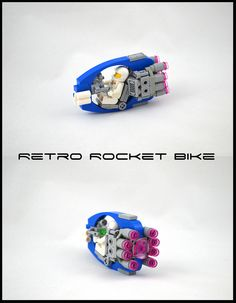 Rocket Bike - New Ideas Lego Mechs, Lego Bionicle, Nave Lego, Lego Cars, Technique Lego, Lego Machines, Lego Sculptures, Micro Lego, Amazing Lego Creations
