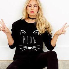 Cat's Meow Sweatshirt