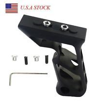 Tactical Vertical ForeGrip Billet SVG Aluminum Angled Shift Grip For Keymod Rail