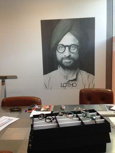 Picktum en las oficinas de Monocle para su marca Lotho.