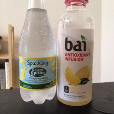 Hot sunny day want something delicious to drink. Bubble water is my old standby. Trying out the Bai for something new. I love lemonade. The Bai tastes different but not too bad. I like that it's sweetened with only stevia and erythritol. But maybe just a good old slice of lemon in water would do it. #Bai #water #keto #sugarfree #natural #thirsty #drinks by my_keto_genesis