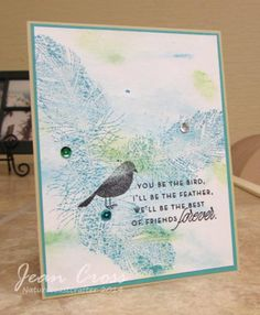 I'll be the feather by naturecoastcrafter - Cards and Paper Crafts at Splitcoaststampers