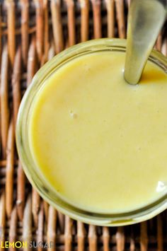 Quick and easy homemade honey mustard salad dressing recipe is less expensive than store-bought, and lets you control the ingredients!