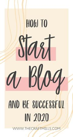 Have you always wanted to start a blog and make money working from home but just don't know where to start? Then you can't afford to skip over this FREE comprehensive guide on how to start a blog step-by step so that you can be successful and make money blogging in 2020.  #startablog #howtostartablogandmakemoney #howtostartablogin2020 #bloggingforbeginners #bloggingtips #blogideas #blogtipsforbeginngers #moneymakingblog #makemoneyblogging #blog #blogging #howtoblog #bloggingin2020
