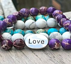 Speak The Name | Christian Jewelry – SpeakTheName Christian Bracelets, Christian Jewelry, Jasper Gemstone, Gemstone Beads, Unique Bracelets, Beaded Bracelets, Love Charms, Jewelry Accessories, Gemstones
