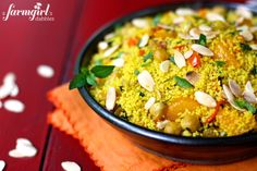 Moroccan Orange Couscous - a farmgirl's dabbles