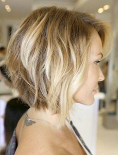 bob haircuts for round faces 2016