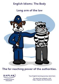 English Idioms: Long Arm of the Law