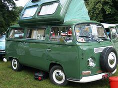 Volkswagen Campervan Buses - 1968