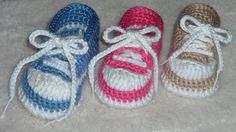 Baby Baseball Tennis Shoes pattern by Marcia Peterson