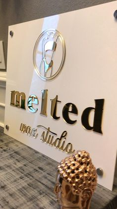 Bring your Business Logo to Life! Laser Cut Signs For Social Media Branding.