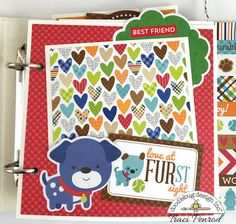 Doodlebug Design Inc Blog: Puppy Love Collection: Best Friends Mini Album