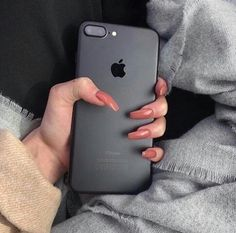 Matte black iPhone 7