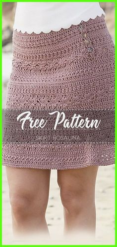 Skirt Rosalina – Free Pattern Skirt Rosalina – Free Pattern,Häkeln Related Awesome Free Crochet Summer Dresses Pattern Ideas for This Year - Page 6 of 39 - Daily Crochet! Lace Dress Pattern, Skirt Pattern Free, Crochet Skirt Pattern, Free Pattern, Crochet Patterns, Crochet Summer Dresses, Crochet Skirts, Crochet Clothes, Crochet Crafts