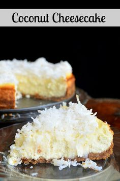 Coconut Cheesecake |