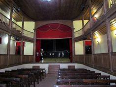 Vista interna do Teatro Minerva