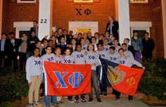 Welcome #ChiPhi Spring class of 2015! #Emory