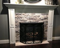 Would love to do this exact thing with Air Stone to our fireplace surround.