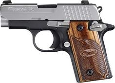 Sig Sauer P238, the sub compact 1911. I would get one of these for each adult member of my family. Great gun!