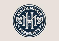 Maidenhair Ferments Logo on Behance