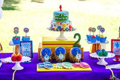 Sesame Street Birthday Party Ideas | Photo 10 of 34 | Catch My Party