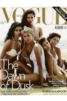 Vogue India - darker-skinned models (Vogue.com UK)
