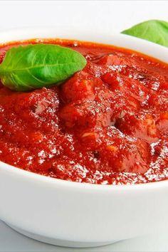 Соус к пасте. Это можно перевести на русский лад и сказать, что это соус к макаронам. Все знают, что самый распространенный соус к пасте - томатный Caviar, Chili, Soup, Fish, Meat, Chile, Pisces, Soups, Chilis