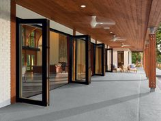 Folding Patio Glass Doors From Marvin Make A Dramatic Statement U0026 Infuse A  Room With Fresh