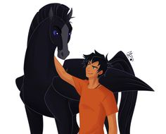 Percy Jackson & the Olympians/The Heroes of Olympus: Percy Jackson and his Pegasus, Blackjack