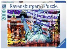 Puzzle Ravensburger Collage de Nueva York de 2000 Piezas