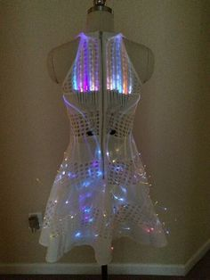 Fiber Optic Pictures of Sequin Dresses | Fiber, How to make and Glow sticks on Pinterest