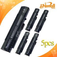 5pcs 5200mAh Battery For Acer Aspire One UM08A51 UM08A72 UM08B31 A110 A150 P531h