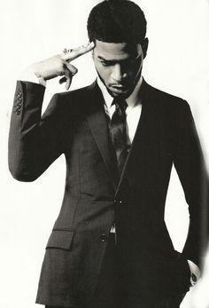 Black Man in a Suit. Yum.  | Vibrantbride.com