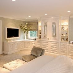 Built Ins Masterbedroom Design, Pictures, Remodel, Decor and Ideas ... in my dream hm