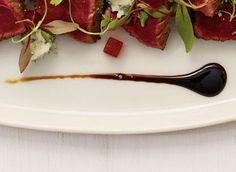 Easy Balsamic glaze...great on pork, beef, chicken, seafood and vegetables