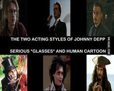 Johnny Depp only has two