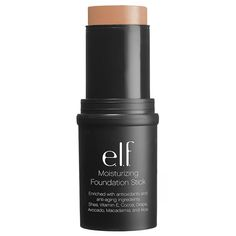 The Best Stick Foundations for Medium to Dark Skin Tones Elf Makeup, Makeup Kit, Skin Makeup, Makeup Products, Makeup Ideas, Beauty Products, Dark Complexion, Dark Skin Tone, Brown Skin