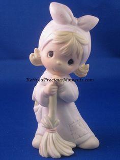 $24.00 Isn't He Precious? - P M Figurine