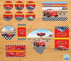Arte Kit Digital - Carros Disney   Sea Artes   Elo7